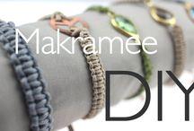 Makramee & Shamballa / Geknüpfte Armbänder mit der Makramee Technik