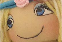 faccine bambole