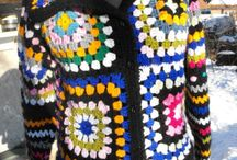 hackovany sveter retro