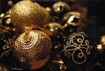 Christmas Black & Gold