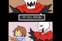 cute undertale