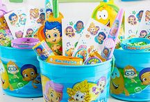 Bubble Guppies Party Ideas / Make your school of fish want to dance with the ultimate gup-gup-guppy party! We have everything from the invitations to great cake how-tos to make your birthday guppy's underwater dream come true! / by Party City