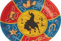 Western Party Supplies / Yee Haw! Round up all the cowboys and cowgirls and throw yourself a rodeo with our Western Party Supplies!