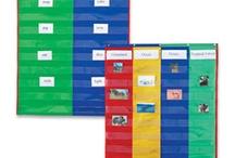 Pocket Charts / Teach, learn, and organize!