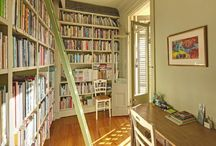 l'envie de bibliothèques / some really cool wall library ideas