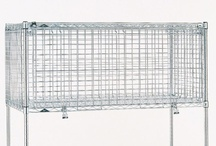Security Storage Units / Mobile     Stationary & Module Units in Super Erecta or MetroMax Q Construction.