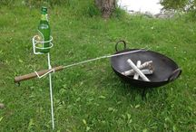 Life Around The Campfire / fun ideas for campfire cooking. Some new, some vintage, some timeless.