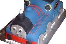 Thomas Tank Cakes  and friends / Making your first Thomas Tank Engine cake, can quite frankly, be a bit hit and miss. It's fortunate though that your target audience age approximately 2 -5 have little understanding of  the hours you've put in to produce this  professional looking birthday cake which has sadly failed miserably. Still, at least there's a whole year ahead to practice your skills....next birthday you're tackling Gordon! Here's a few examples of some Thomas Tank cakes - some hits and some misses...