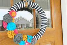 Wreaths / by samantha lehman