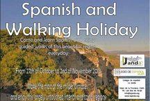 Spanish and Walking