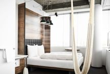 Hotel room - industrial