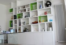 Living Room Storage / Helping to solve the storage dilemmas..
