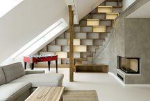 Lofts / sloping ceilings