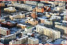 Vaasa-Vasa, Finland / A bilingual city located on the west coast of Finland. I lived there 1993-1999.
