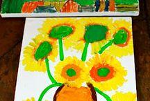 Art-tastic- Homeschool / Art, kids crafts, art appreciation