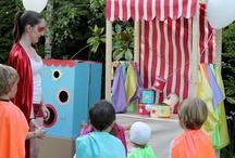 Fiestas infantiles / by Yanina Scrap