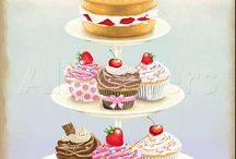 Cupcakes and teatime