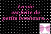 Jolies phrases / Des jolies petites phrases en français qui ont du coeur / by Mademoiselle Sandrillana