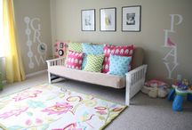 playroom/big girl room / by K K