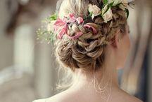 Peinados flores