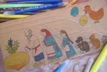 Игры из картона / Из картонной коробки можно сделать множество увлекательных игр для ребенка. Вот какие сделали мы с сыном