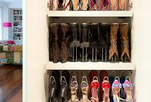 como guardar zapatos