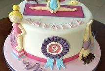 gimnastyczny tort