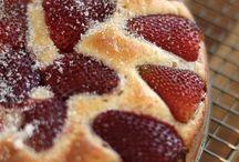 bolos de frutas