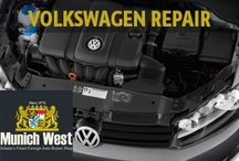 Volkswagen Repair / #volkswagen #repair #decatur / by Munich West
