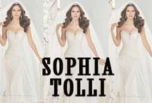 Sophia Tollie Bridal Collection / Sophia Tolli bridal dresses is a special occasion and bridal collection that combines soft, classic romance with conventional bridal glamour.  Shop Sophia Tolli Dresses: http://www.missesdressy.com/dresses/designers/sophia-tolli