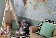 Nursery ideas / by Chelsea Thibodeau