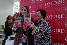The harbinger Patchwork / Neerja Gaurie's Novel  The harbinger Patchwork was launched at the Oxford Bookstore Connaught Place Delhi