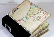 minialbum scrapbook