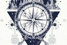 kompas tatto