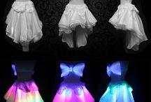Roupas LED