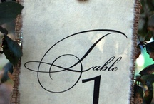 wedding-table numbers