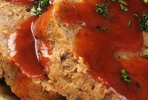 Meat loaf / Brown sugar meat loaf