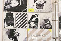 Und was nun mit all den Fotos? / - Fotos durch kleine Tricks noch mehr zur geltung bringen - Scrapbooks - Leporello  - Wandgestaltung mit Fotos - Collagen