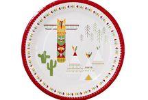 Fiesta Indios / Te proponemos los artículos de fiesta más bonitos para decorar una fiesta infantil con temática de indios. Ideal para cumpleaños y fiestas de niños.