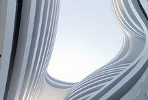 ZAHA HADID / curving forms
