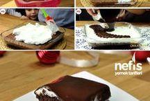 Denenecek projeler / Pastalar ve kekler yemek tarifleri