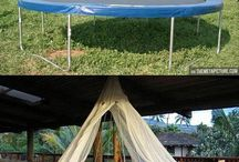 cool diy bed swings