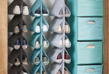 Armazenamento De Sapatos