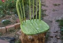 Natural furniture design by Thomas.