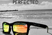Mirrored Sunglasses / Colorful men's and women's mirrored sunglasses