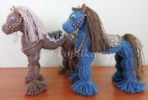 licorne au tricot