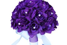 Purple Wedding Flowers / Lilac, purple, mauve, or violet? Angel Isabella Flowers creates wedding bouquets, centrepieces, boutonnieres in every shade of it!