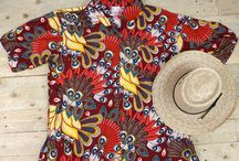 Tropical Clothes / Beautiful and colourful Tropical clothing prints