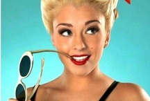pinup hairstyle