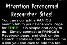 PANICd Announcement Images / by PANICd Paranormal Activity Network Investigation Center Database